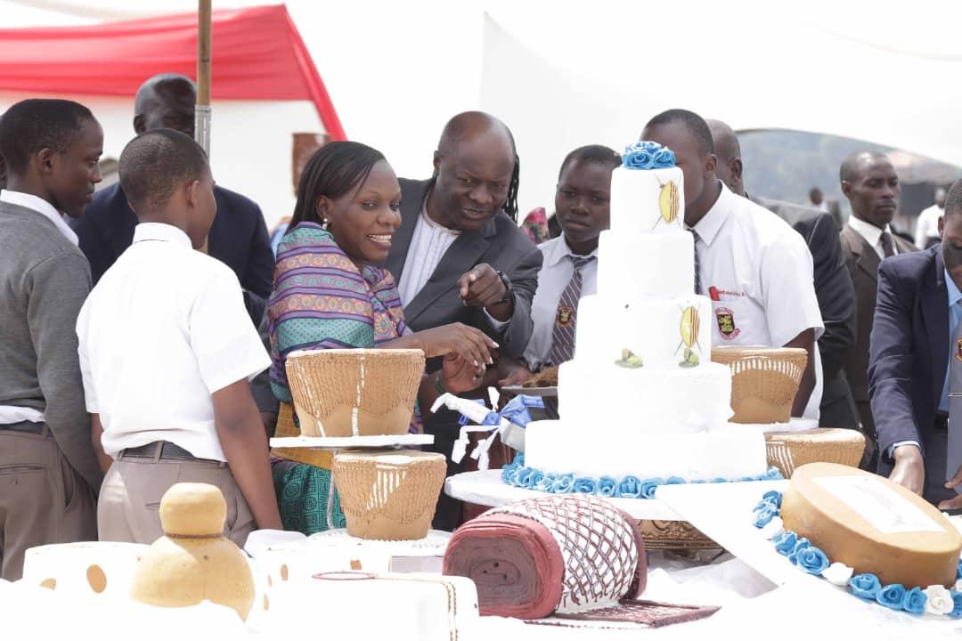 Mengo senior School, kabaka's visit